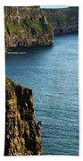 Cliffs Of Moher Clare Ireland Hand Towel