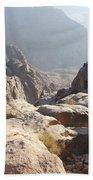 Cliffs Of Mount Sinai Bath Towel