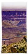 Climbing In Grand Canyon Bath Towel