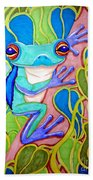 Climbing Tree Frog Bath Towel
