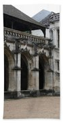 Cloister And Staircase Cathedral Tours Bath Towel