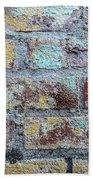 Close-up Of Old Brick Wall Hand Towel