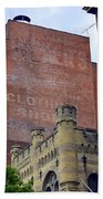 Classic Cincinnati Architecture Bath Towel