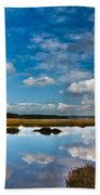 Clouds Flying Clouds Floating Bath Towel