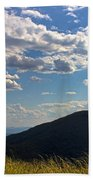 Clouds Over The Mountain Bath Towel