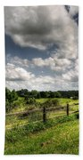 Cloudy Day In The Country Bath Towel