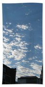 Cloudy In Cleveland Bath Towel