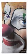 Clown Mural Bath Towel