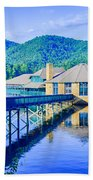 Clubhouse On Lake Tahoma Bath Towel