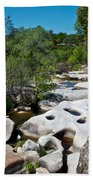 Coarsegold Creek Bed In Park Sierra-ca Bath Towel