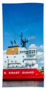 Coast Guard Cutter Mackinaw Bath Towel