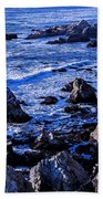 Coastal Cliffs Bath Towel