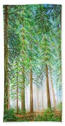 Coastal Redwoods Bath Towel