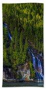 Coastal Waterfall Bath Towel