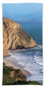 Coastline At Point Reyes National Sea Bath Towel