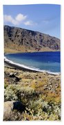 Coastline Of Hierro Island Bath Towel