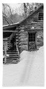 Slayton Pasture Cobber Cabin Trapp Family Lodge Stowe Vermont Bath Towel