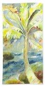 Coconut Palm Bath Towel
