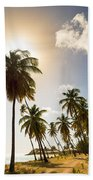 Coconut Trees Bath Towel