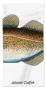 Codfish Bath Towel