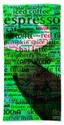 Coffee Lovers Diary 5d24472p108 Bath Towel