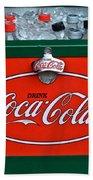 Coke Cooler Bath Towel