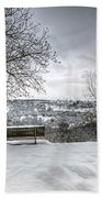 Cold Seat With A View Bath Towel