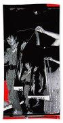 Collage Body Talk Poster Prize Jello Wrestling Contest Gay Bar Tucson Arizona 1992 Bath Towel