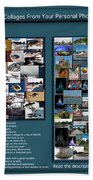 Collage Photography Services Bath Towel