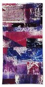 Collage Bath Towel