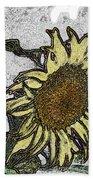 Color Me Sunflower Bath Towel