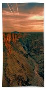 Color Of The Grand Canyon South Rim V8 Bath Towel