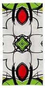 Color Symmetry  Bath Towel