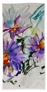 Colorado Asters Bath Towel