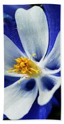 Colorado Columbine Bath Towel