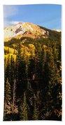 Colorado Mountains Bath Towel