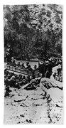 Colorado Railroad Wars Bath Towel