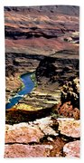Colorado Rapids Grand Canyon Bath Towel