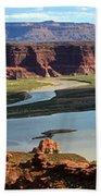 Colorado River Panoramic Bath Towel
