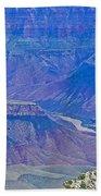 Colorado River Two At Cape Royal On North Rim Of Grand Canyon-arizona Bath Towel