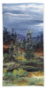 Colorado Skies Bath Towel