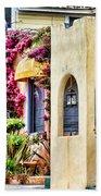 Colored Cottages By Diana Sainz Bath Towel