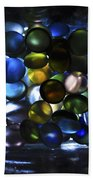Colored Stones Of Light Hand Towel