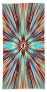 Colorful Abstract Bath Towel