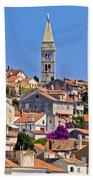 Colorful Adriatic Town Of Losinj Bath Towel