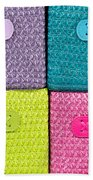 Colorful Baskets Hand Towel by Tom Gowanlock