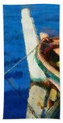 Colorful Boat Bath Towel