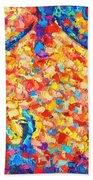 Colorful Bodyscape 1 Bath Towel