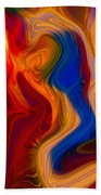 Colorful Compromises II Bath Towel