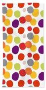 Colorful Confetti  Bath Towel